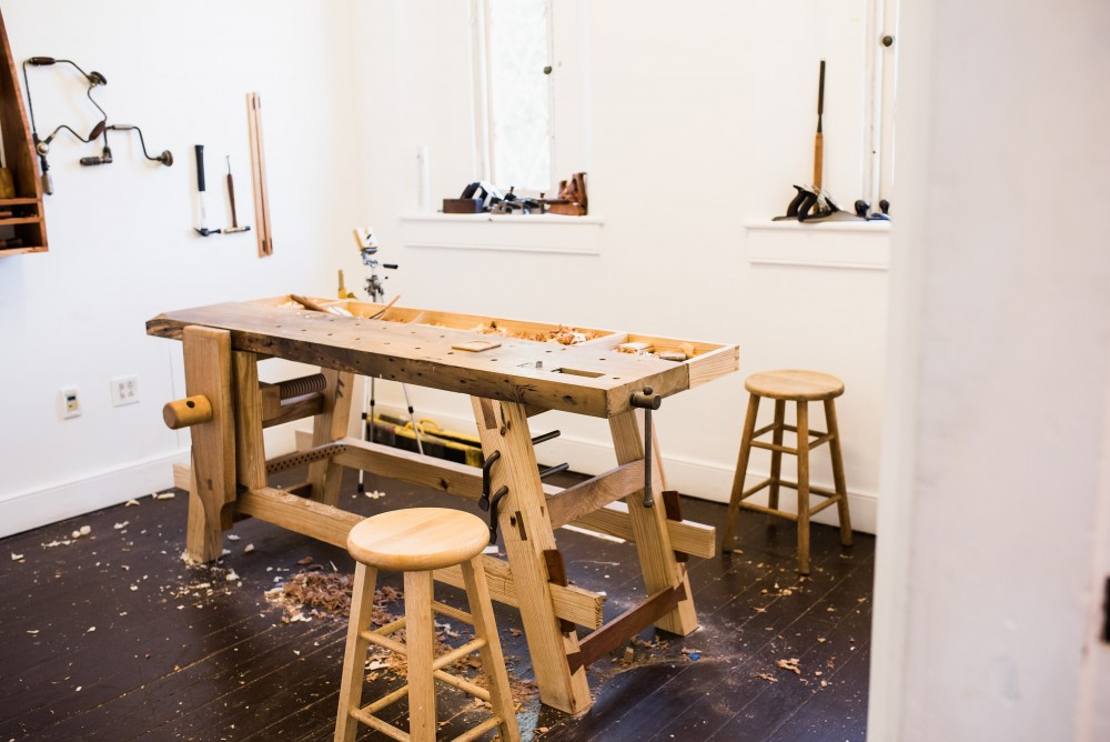 My workshop in the Gallery during the summer. (c) Copyright Dana Rogers Photography